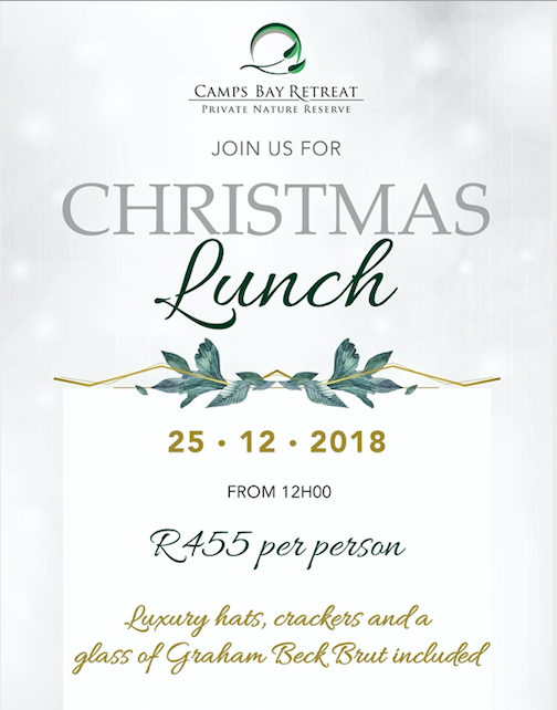 A Classy Christmas at Camps Bay Retreat